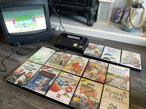 Sega Master System 2 Console And 13 Games Alex Kidd Built In