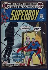 Superboy 189 COVER ART HAND PAINTED COLOR GUIDE 1972 Cardy HANGING DAD BY NOOSE