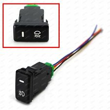 Factory Style 4-Pole 12V Push Button Switch with LED Background Indicator Lights