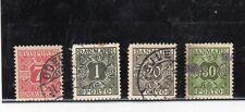 Dinamarca Valores para Periodicos y de Tasas año 1907-53 (CR-550)