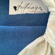 """""""stoffdesign!""""BRERA LINO*100% Leinen/polstern+Deko cerulean blau*designers guild"""