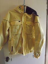 Burton Tempest Snowboard Ski Jacket, Women's Medium yellow with black