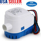 Automatic Submersible Boat Bilge Water Pump 12v 1100gph W Built In Float Switch