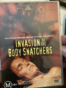Invasion of the Body Snatchers DVD WV1 Donal Sutherland 1978 RARE smart horror