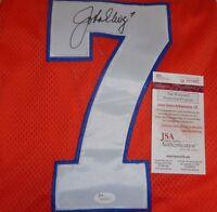 John Elway Signed Denver Broncos 75th Anniversary Mitchell & Ness Jersey JSA