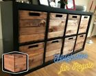 Regaleinsatz für Kallax Regale Holzkisten Einschub Aufbewahrungsbox Holz Ikea