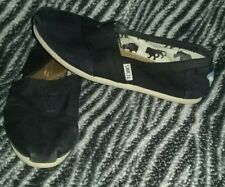 Toms Shoes Women's Size 5 Black ~ Free Shipping!