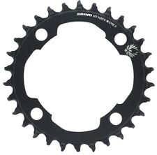 Sram X-Sync 2 Eagle Aluminum 30T Chainring 94 BCD Black For Light Powered EMTB