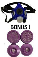 Large Survivair 1/2 Mask  Respirator 1 Year Supply of  Filters