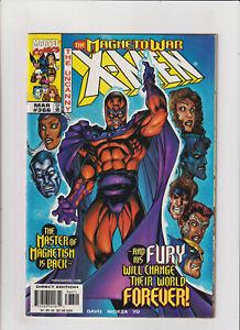 Uncanny X-Men #366 VG 4.0 Marvel Comics 1999 Magneto War, Wolverine