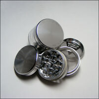 "Space Case Herb & Tobacco Grinder  Small 2"" x 1.63"" Inch 4 Piece Aluminum"