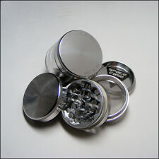 """Space Case Herb & Tobacco Grinder  Small 2"""" x 1.63"""" Inch 4 Piece Aluminum"""