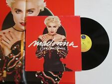 MADONNA You Can Dance LP ITALY PRESS + GIANT POSTER NO CD
