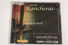 Puras Rancheras Romanticas Various Artists Music CD