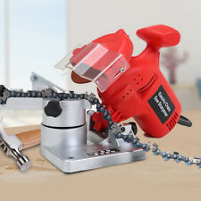 Chainsaw Sharpener Stones Electric Disc Chain Tools Grinder Bench Heavy Duty