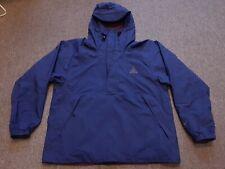 VTG 90s Nike ACG 1/2 Zip Pullover Hooded Anorak Parka Windbreaker Jacket Blue M