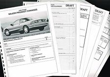1996 Ford PROBE <confidential> DEALER Only Preview {Brochure Info} GT, SE
