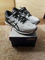 Men's Size 9 Asics Gel Kayano 24 Silver Black Grey Running Shoes
