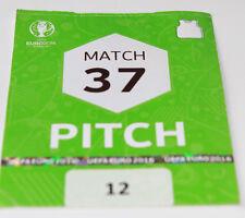 OLD TICKET PASS Pitch EURO 2016 Poland Switzerland in Saint Etienne