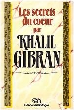 GIBRAN Khalil - LES SECRETS DU COEUR - 1988