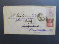 Great Britain 1876 Cover to Constantinople w/ Better Issue - Z7839