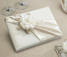 Taupe Rose Guest Book Wedding