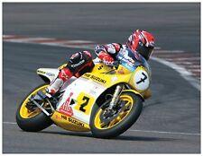 post card Suzuki RGB500 1982 Bikers' Classics Spa 2008 #2 (7) Randy Mamola