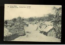 1914 Stanleyville Belgian Congo RPPC Cover to Hungary postcard