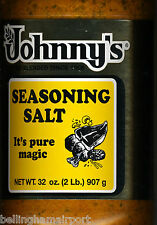 Johnny's Seasoning Salt Pure Magic Meat & Other Dishes Fast Free Ship 2 US WOW!