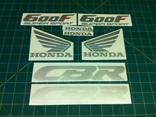 CBR 600F 600 F 1992 Decals Stickers Fairing and Tank Graphics any colours