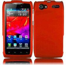 For Motorola Electrify 2 XT881 Rubberized HARD Case Snap On Phone Cover Orange