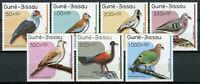Guinea-Bissau Birds on Stamps 1989 MNH Pigeons & Doves Laughing Dove 7v Set