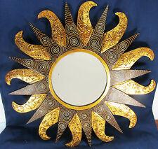 """Mirror wall mount sun flare """"Rococo Frame"""" home decor"""