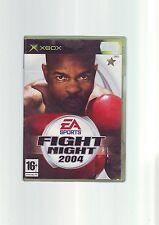 EA SPORTS FIGHT NIGHT 2004 - XBOX BOXING GAME / 360 COMPATIBLE ORIGINAL COMPLETE