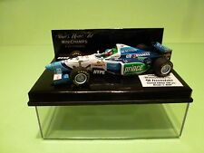 MINICHAMPS 1:43 - BENETTON RENAULT B.196 J.ALESI - LIMITED EDITION HOMBLE-  NMIB