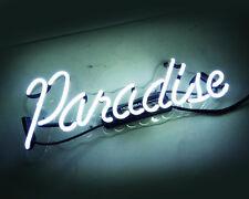 "0.99 ""Paradise"" Neon Sign Light Boutique Shop Room Floor Wall Decor Artwork"