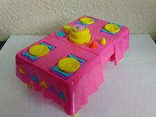 Dora the Explorer Talking Dollhouse Flip Table Birthday Cake Chicken Dinner