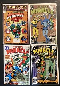 Mister Miracle (Vol. 2 1989) 6, 7, 8  & Justice League International Special 1