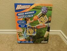 Brand new in the box Banzai Mega Warrior Battle Pack set