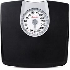 Bathroom Weight Scale Floor Dial Body Monitoring Health Fitness Fat Personal