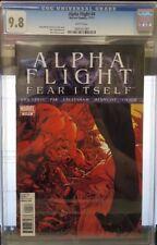 Alpha Flight #4 (Nov 11) Cgc 9.8 Near Mint/Mint