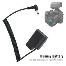 DMW-BLF19 DCC12 Power Dummy Battery Adapter for Panasonic GH3 GH4 GH5S Cameras