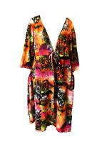 TS Taking Shape-Mesh Kimono Jacket-Plus Size L