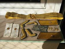 Soviet Rear Admiral Shoulder Boards,general parade belt and others,NOS,original