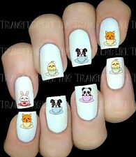 KAWAII 30 Autocollant Stickers ongles nail art manucure water decal