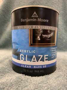 Benjamin Moore Clear Acrylic Glaze N405 00 ,Quart