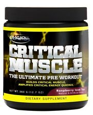 The Ultimate Beast Combo Critical Muscle Pre-Workout & D-REK 90 Test Booster