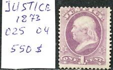 US Official Stamp: Justice Dept. Sc. # 025 04. 1 cent. SCV $550. Mint OG NH.