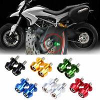 Motorcycle CNC Swingarm Swing Arm Spools Spool Sliders Stand Bobbins 10MM