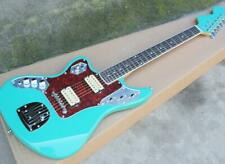 Green Left Hand Electric Guitar With Rosewood Fingerboard red Pearl Pickguard